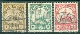 Kiauchau 1905 Ships - Lot. 3646 - Kolonie: Kiaochow