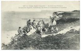 76 - LE TREPORT - (517) - Le Camp Anglo-Canadian - Au Bord Des Falaises - Les Blessés Anglais, Canadiens...- CPA - Le Treport