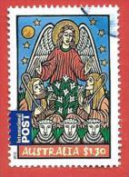 AUSTRALIA USATO - 2010 - NATALE - Angel And Shepherds - 1,30 $ - Michel AU 3498 - 2010-... Elizabeth II