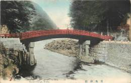 JAPON . SACRED BRIDGE . NIKKO . - Japan