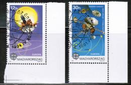 CEPT 1991 HU MI 4133-34 USED HUNGARY - 1991
