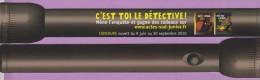 Marque-pages °° Actes Sud °° - 2010 -  °° C´est Toi Le Détective . Rapt à L´Opéra °° . 4x22 - Bladwijzers