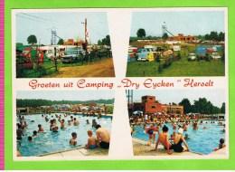 HERSELT-GROETEN UIT CAMPING' DRY EYCKEN', Herselt, Vintage - Herselt