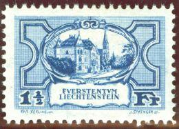Liechtenstein 1925 Regierungsgeb. Zu#70 Mi#71 **postfrisch Fremdkörpereinschluss - Liechtenstein