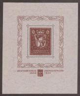 Liechtenstein 1934 Sonderblock Vaduz Zu#104 Mi#Bl.1 * Falz - Liechtenstein