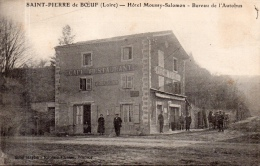 """ST PIERRE DE BOEUF """" Hotel MOUSSY-SALOMON """"Bureau De L'Autobus"""" - Other Municipalities"""
