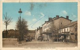 D 63 - AMBERT - Avenue De La Gare  - A - Ambert