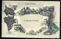 Cpa Du 95 Souvenir D' Argenteuil      FRM 19 - Argenteuil