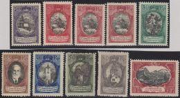 Liechtenstein 1921 Satz Zu#53-80 + 54b * Falz Ungebraucht - Liechtenstein
