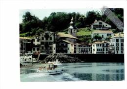 """64 - CIBOURE - Quai Maurice Ravel - CLOCHER école Saint Vincent - BATEAU """"Nivelle"""" - 1986 - - Ciboure"""