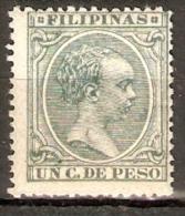 FILIPINAS 1896 EDIFIL 121* - Filippijnen