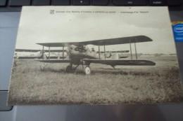 CPA LONGVIC LES DIJON NIEUPORT MEETING AERIEN AVION - Avions