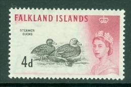 Falkland Is: 1960/66   QE II - Birds   SG198    4d      MH - Falklandeilanden