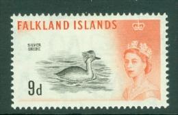 Falkland Is: 1960/66   QE II - Birds   SG201    9d      MH - Falklandeilanden