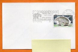 974 ST PIERRE  LA CROIX ROUGE FRANCAISE   7 / 1 / 1976  Lettre Entière N° H 171 - Postmark Collection (Covers)