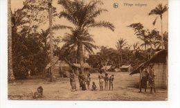 CONGO BELGE Village Indigene - Belgian Congo - Other