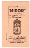 buvard petit format MIROR  (PPP214)