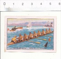 Yole à 8  , Avec Barreur   -   Achter-Jolle Mit Steuermann   // ( Image Thème Sport Aviron Rowing )  //  IM 26-KP3 - Nestlé