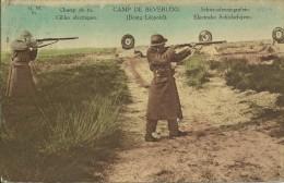 CAMP DE BEVERLOO : Champ De Tir. Cibles électriques. Carte En Couleur. - Leopoldsburg (Camp De Beverloo)