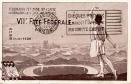 Fédération Féminine De GYMNASTIQUE Et D'Education Physique VIIe Fête Fédérale - Gymnastics