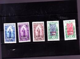 OUBANGUI : Y&T : 37 à 41* - Unused Stamps
