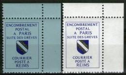1988 (Reims): N°39/40 ** CdF      - Cote 32€ - - Grève