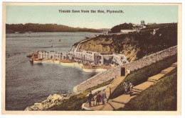 Tinside Cove From The Hoe, Plymouth Colour Postcard - Virginia Series - Unused - Plymouth