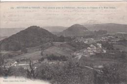Cp , 88 , BRUYÈRES-en-VOSGES , Vue Générale Prise De L'Hélédraye , Montagne Du Château Et Le Mont Avison - Bruyeres