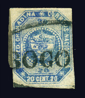 COLOMBIA 1859 - Scott #6 - Used - Colombia