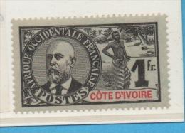 COTE D'IVOIRE -  Yvert N° 33 - Nuevos