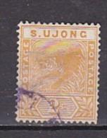MALAYSIA - SUNGEI UJONG  - N°Y&T - 12 -  2c Orange  - Tigre - Oblit - Malaysia (1964-...)