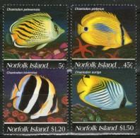 NORFOLK: N°574/577 **      - Cote 9,50€ - - Ile Norfolk