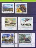Mwe2064 FAUNA * SMALL ASSORTMENT * NATURE PROTECTION VOGELS BIRDS VÖGEL AVES OISEAUX JUGOSLAVIJA PF/MNH - Milieubescherming & Klimaat