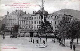 65, BAGNERE DE   BIGORRE, PLACE LAFAYETTE, L'ARBRE DE LA LIBERTE, 2 SCANS - Bagneres De Bigorre