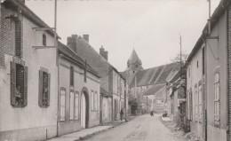 CPSM PM Dép  89 Dixmont Entrée Du Pays Route De Joigny  Circulée 1958 - Dixmont