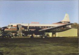 Convair 440 Airplane Avion Air Lines Delta Air Lines Aircraft CV440 Aviation Airplanes Aerei CV 440 TEXACO - 1946-....: Era Moderna