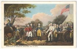 Surrender Of Burgoyne, Saratoga, Oct. 17, 1777 - Guerres - Autres