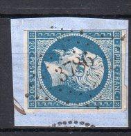 """FRANCE : PC 3786 . """" DANCEVOIR   """" . (50) . N° 14 . TB . SUR FGT . - Marcophily (detached Stamps)"""