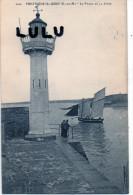 DEPT 22 : 2 Scans ; Portrieux Saint Quay , Le Phare Et La Jetée - Saint-Quay-Portrieux