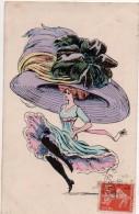 Femme Chapeau Illustrateur - Femmes