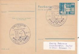 SCHACH-CHESS-ECHECS-SCACC HI, GDR/DDR, 1984, Special Postmark !! - Schaken