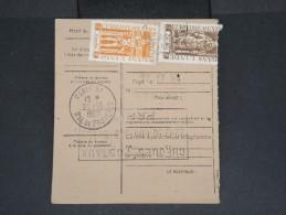 FRANCE-INDE-Mandat Carte Chargé De Pondichéry Pour Paris En 1950  Pas Fréquent à Voir Lot P7114 - Zonder Classificatie