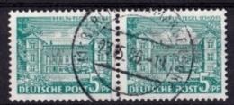 BERLIN Mi. Nr. 44 O Waagrechtes Paar (3-55) - [7] República Federal