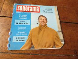 SONORAMA N°25 Décembre 1960 Charles Aznavour La Boite à Sel La Pastorale Provençale - Collectors