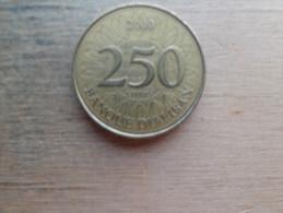 Liban  250  Livres  2000 - Liban