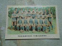 Football Team  Progresul Timisoara  -Romania  D131283 - Soccer