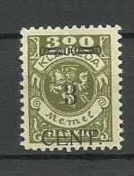 Memelgebiet 1923 Lithuania Litauen Klaipeda Michel 179 * - Memel (Klaïpeda)
