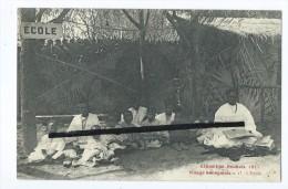 CPA - Exposition Roubaix 1911 - Village Sénégalais - 17- L'Ecole - Roubaix