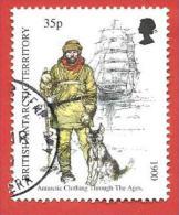 BAT USATO - BRITISH ANTARCTIC TERRITORY - Antartic Clothing Trought The Ages - 35 P - Michel ------ - Territorio Antartico Britannico  (BAT)