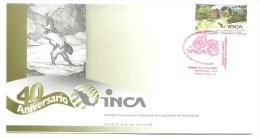 FDC - 40 ANIVERSARIO INCA - INSTITUTO NACIONAL PARA EL DESARROLLO DE CAPACIDADES DEL SECTOR RURAL 2013 - Mexico
